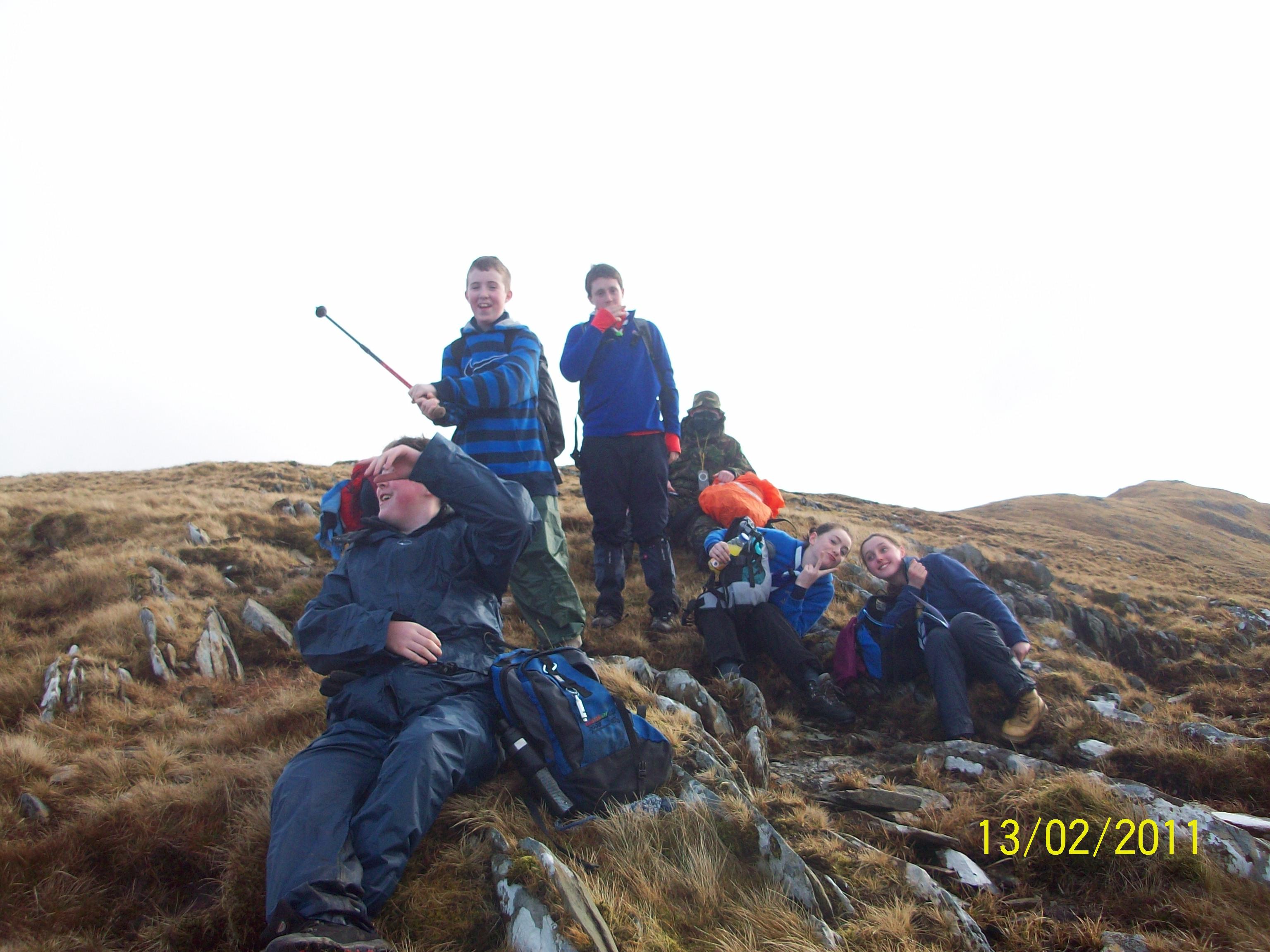Sheefrey Hills hike 13-02-11 011