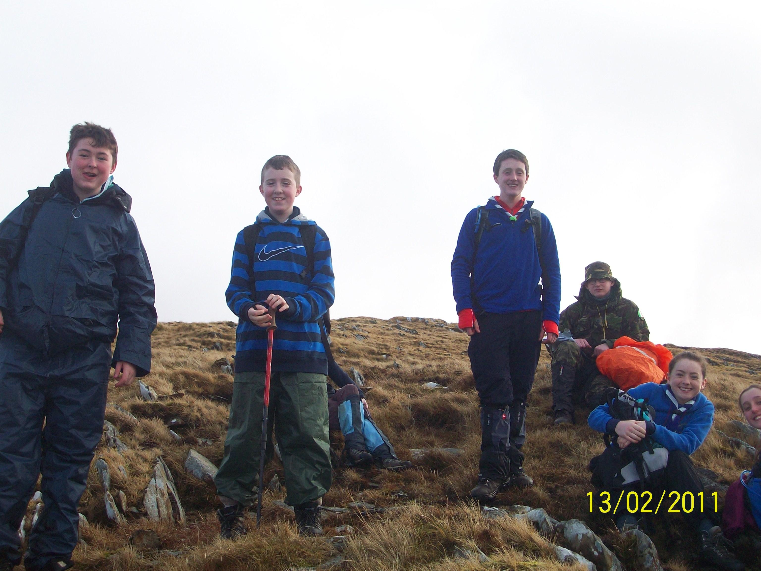 Sheefrey Hills hike 13-02-11 012