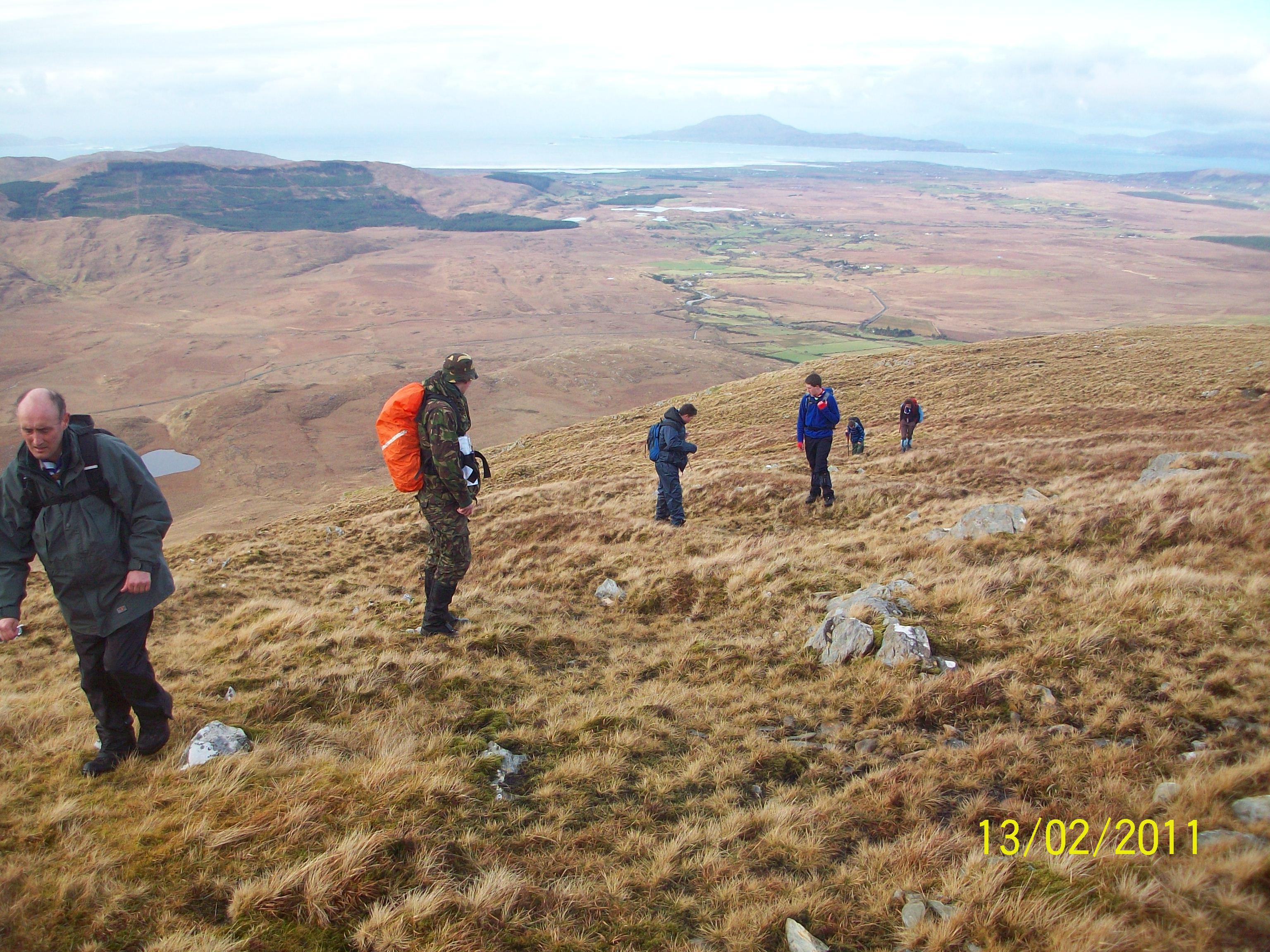 Sheefrey Hills hike 13-02-11 013