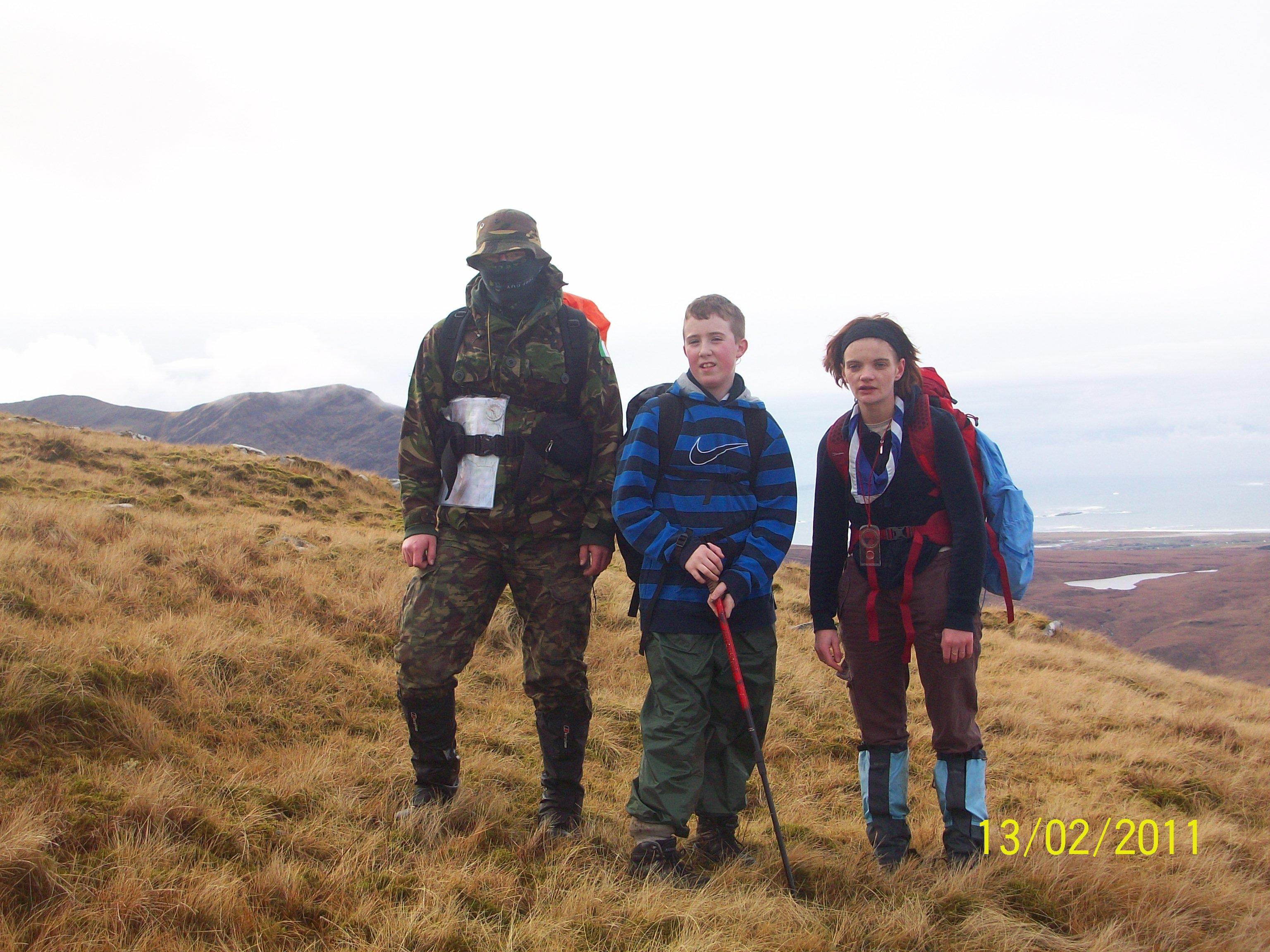 Sheefrey Hills hike 13-02-11 019