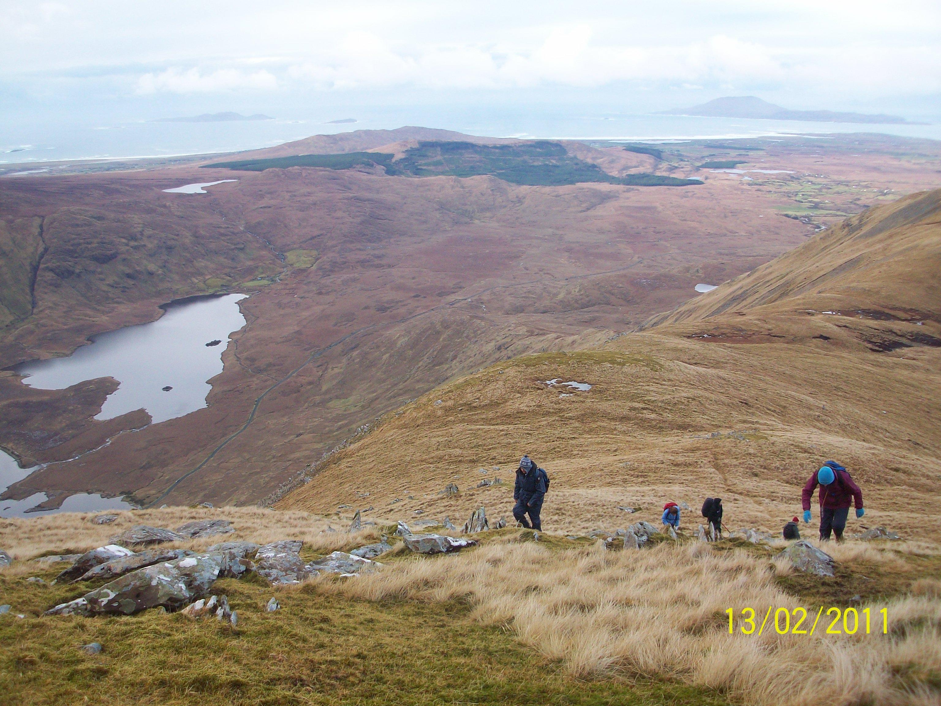 Sheefrey Hills hike 13-02-11 029