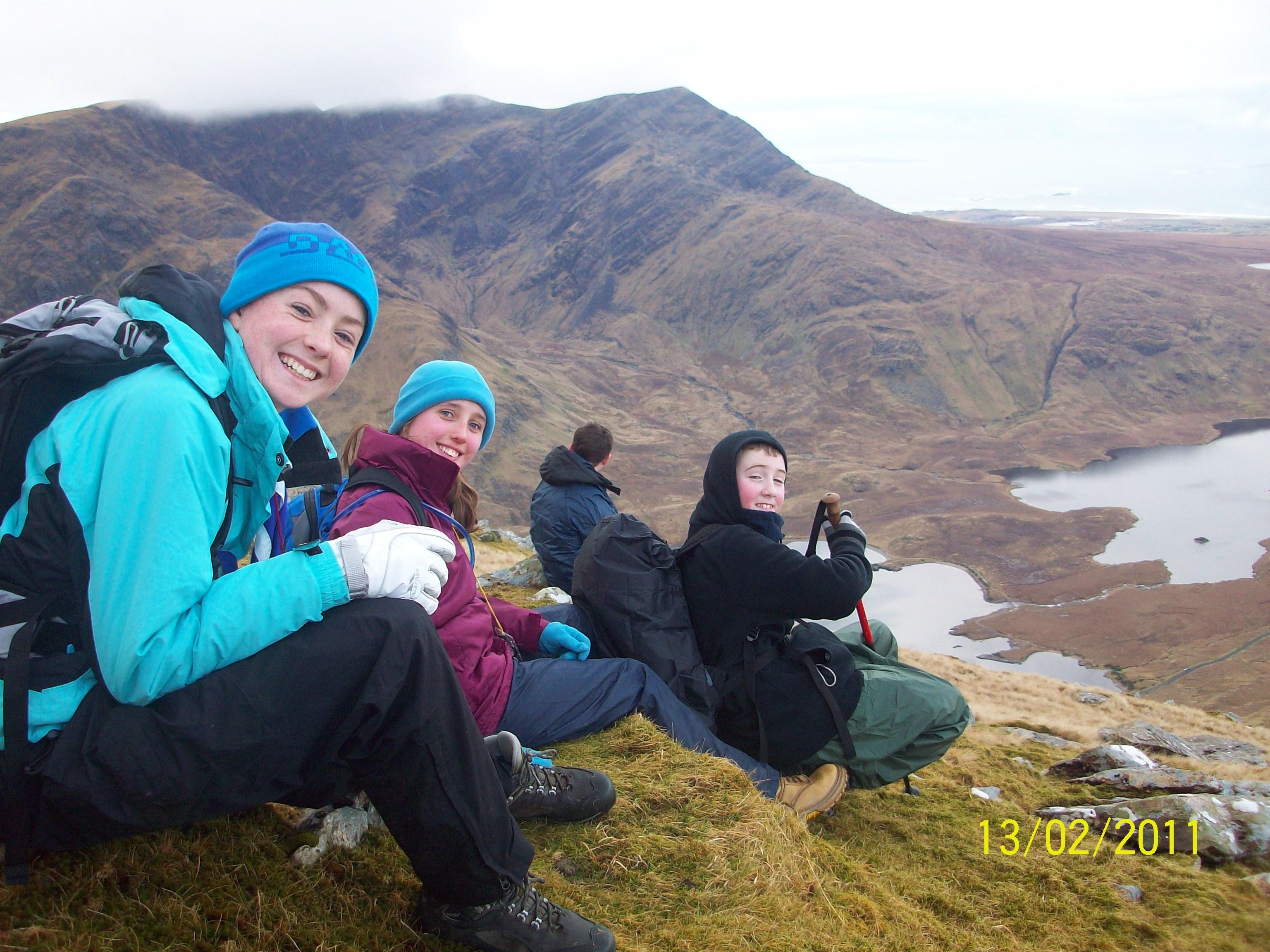 Sheefrey Hills hike 13-02-11 035