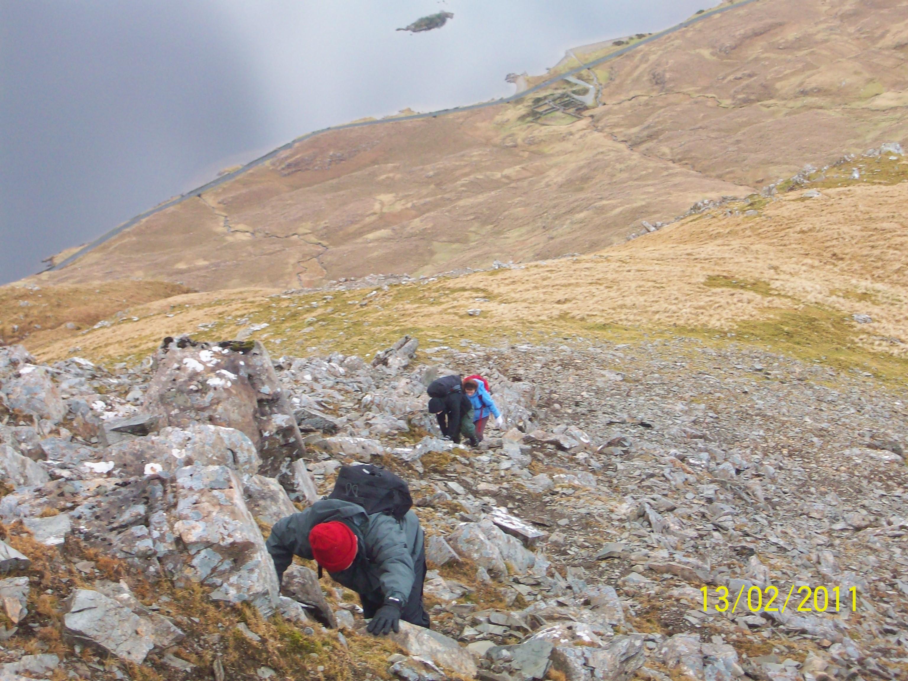 Sheefrey Hills hike 13-02-11 037