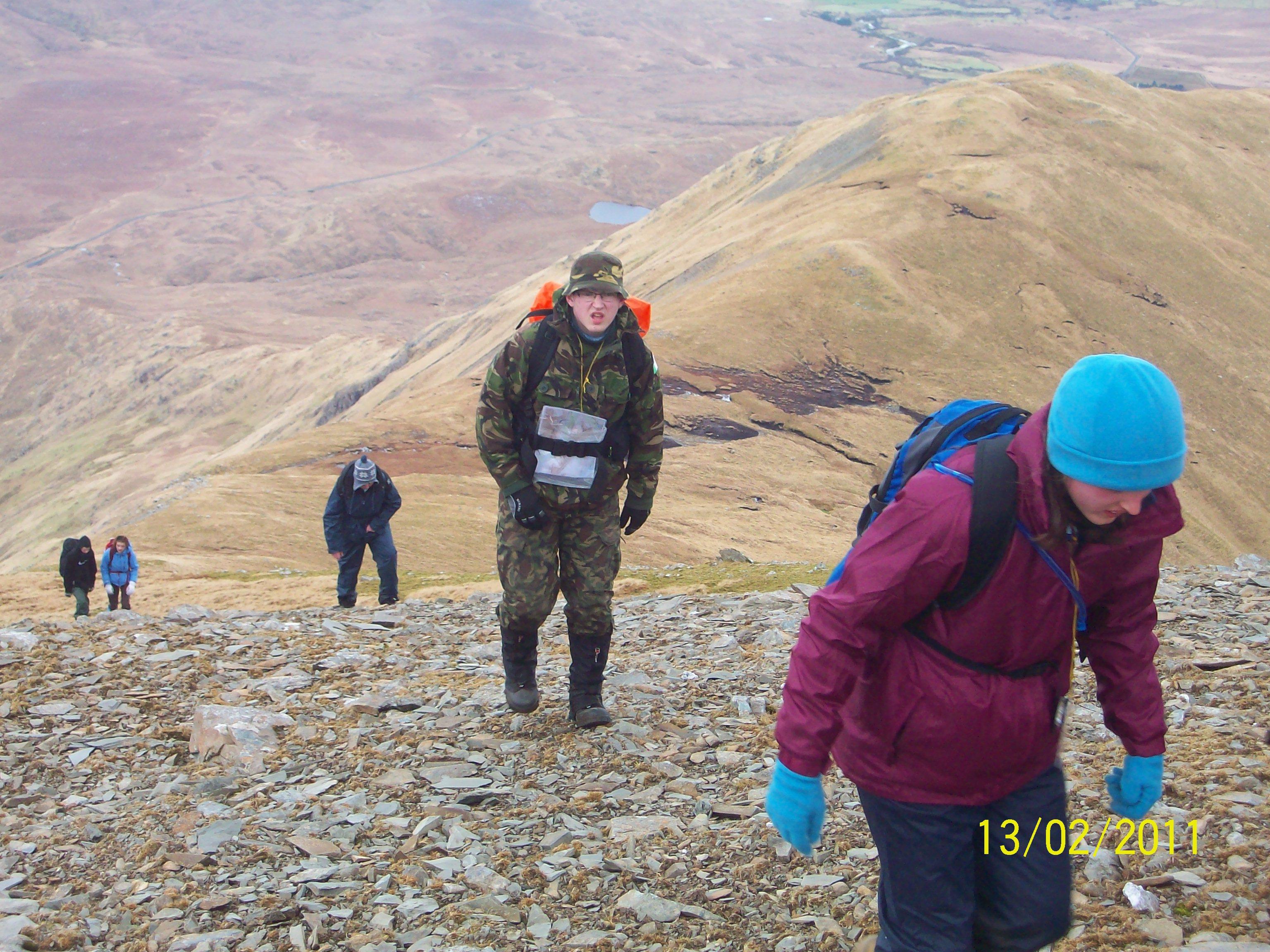 Sheefrey Hills hike 13-02-11 042