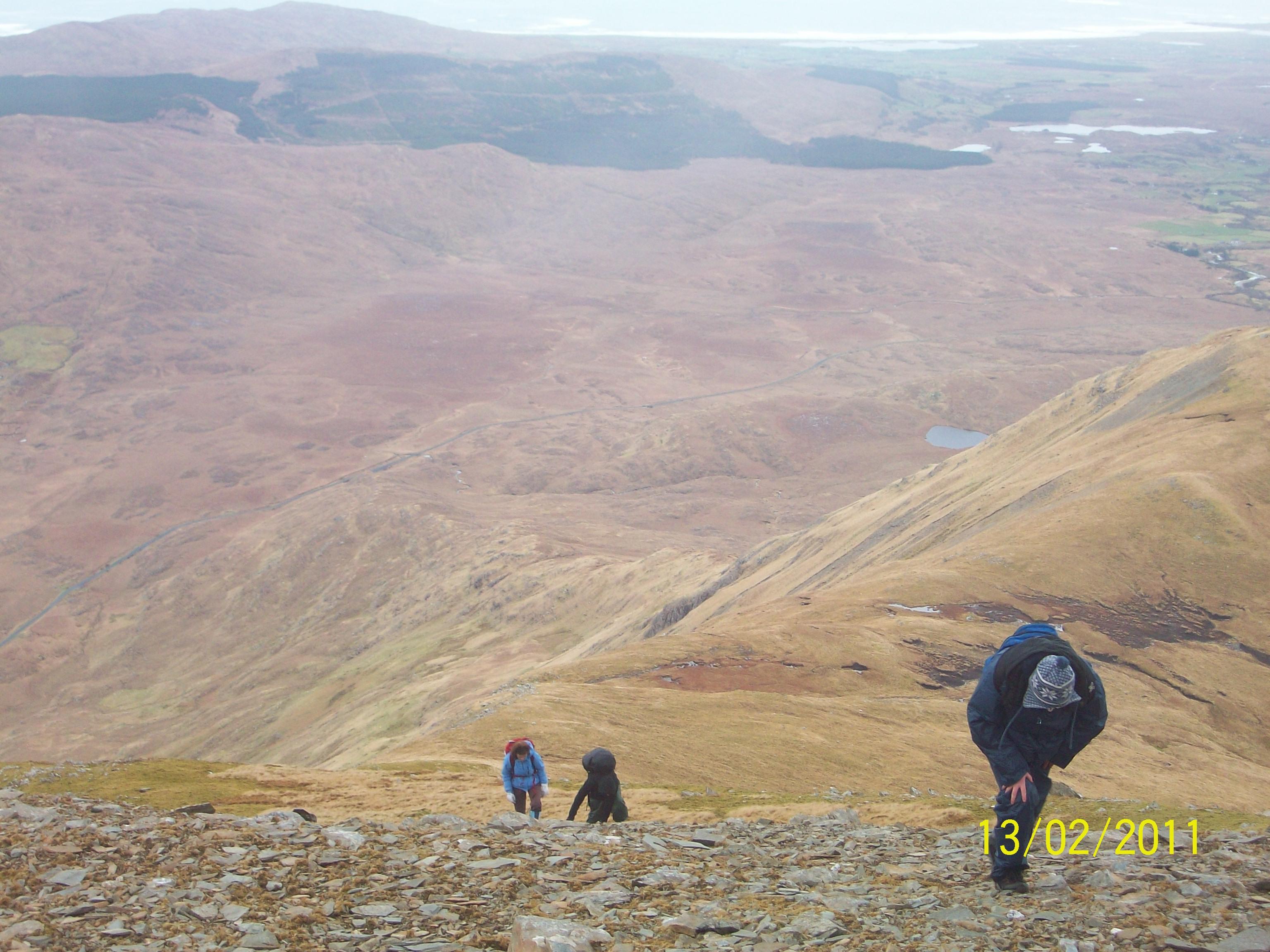Sheefrey Hills hike 13-02-11 044