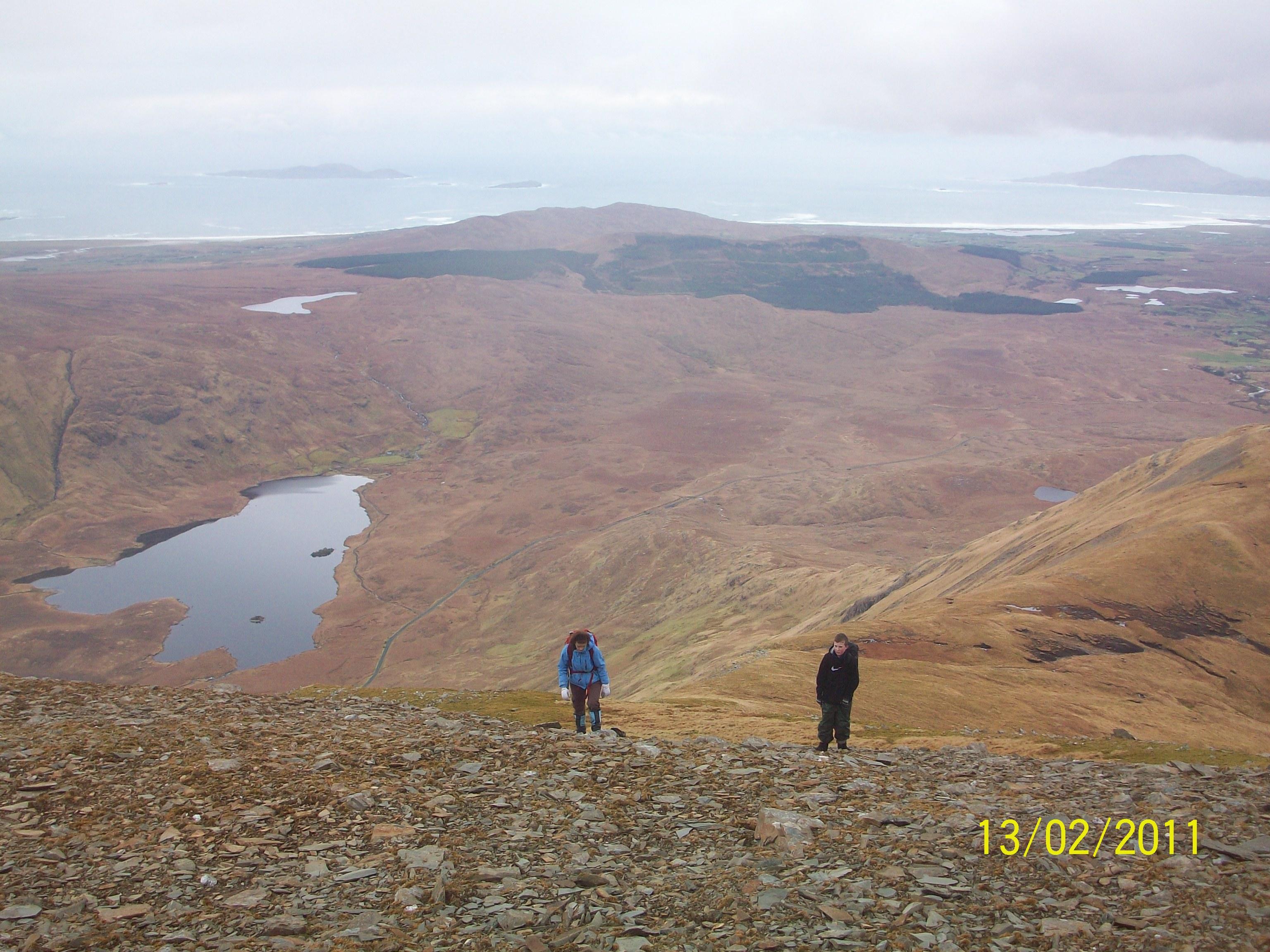 Sheefrey Hills hike 13-02-11 045