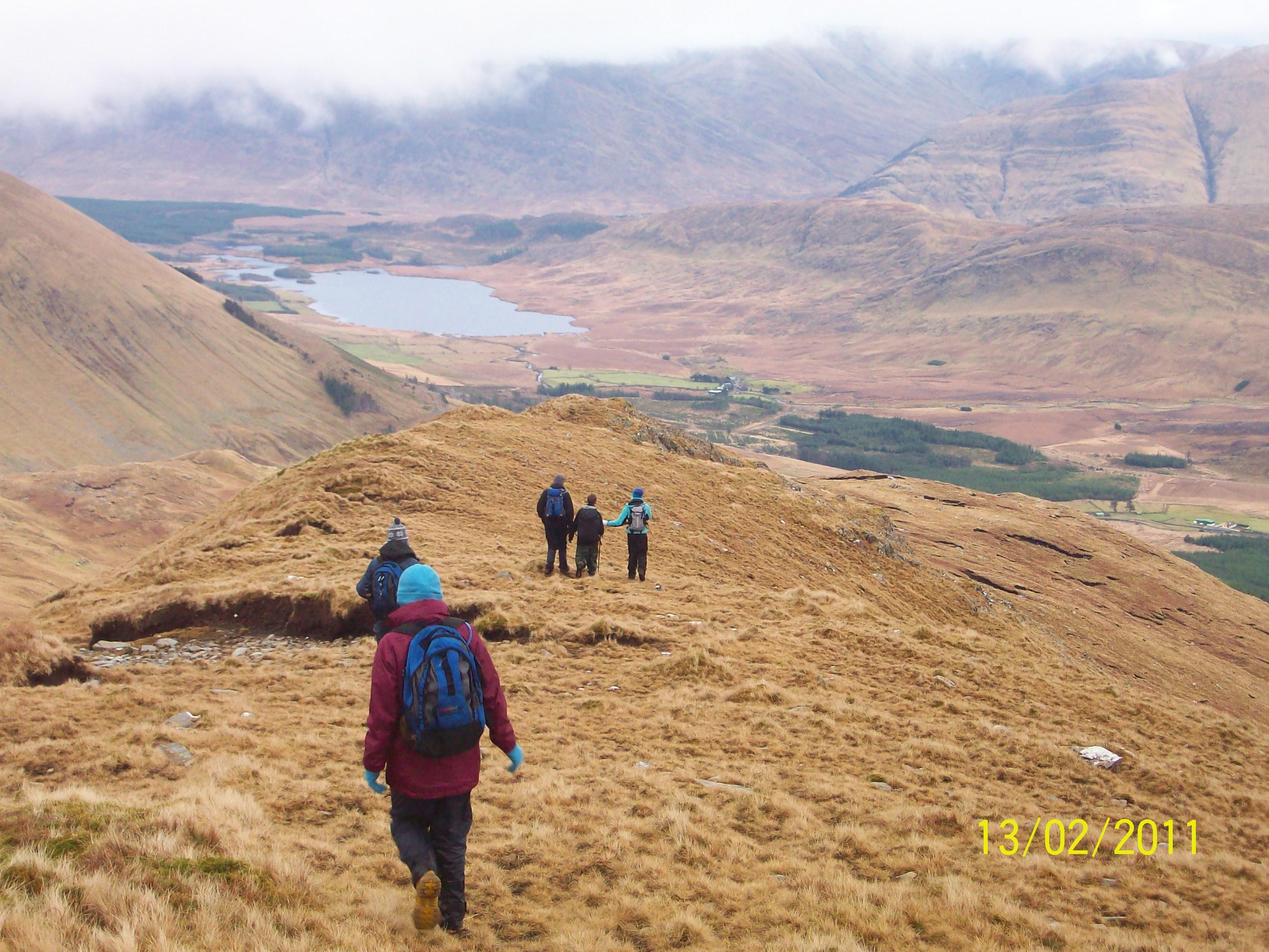 Sheefrey Hills hike 13-02-11 051
