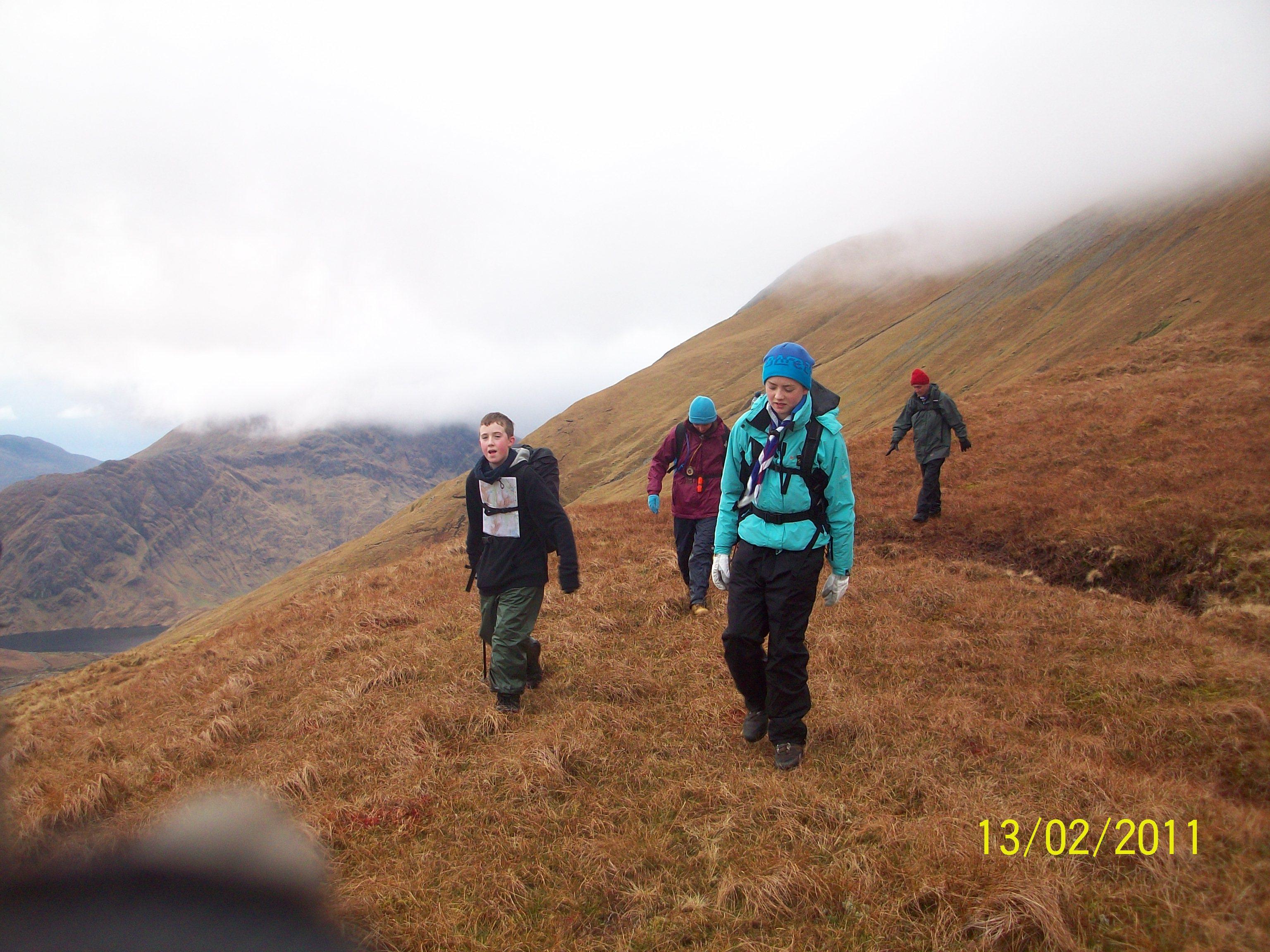 Sheefrey Hills hike 13-02-11 053