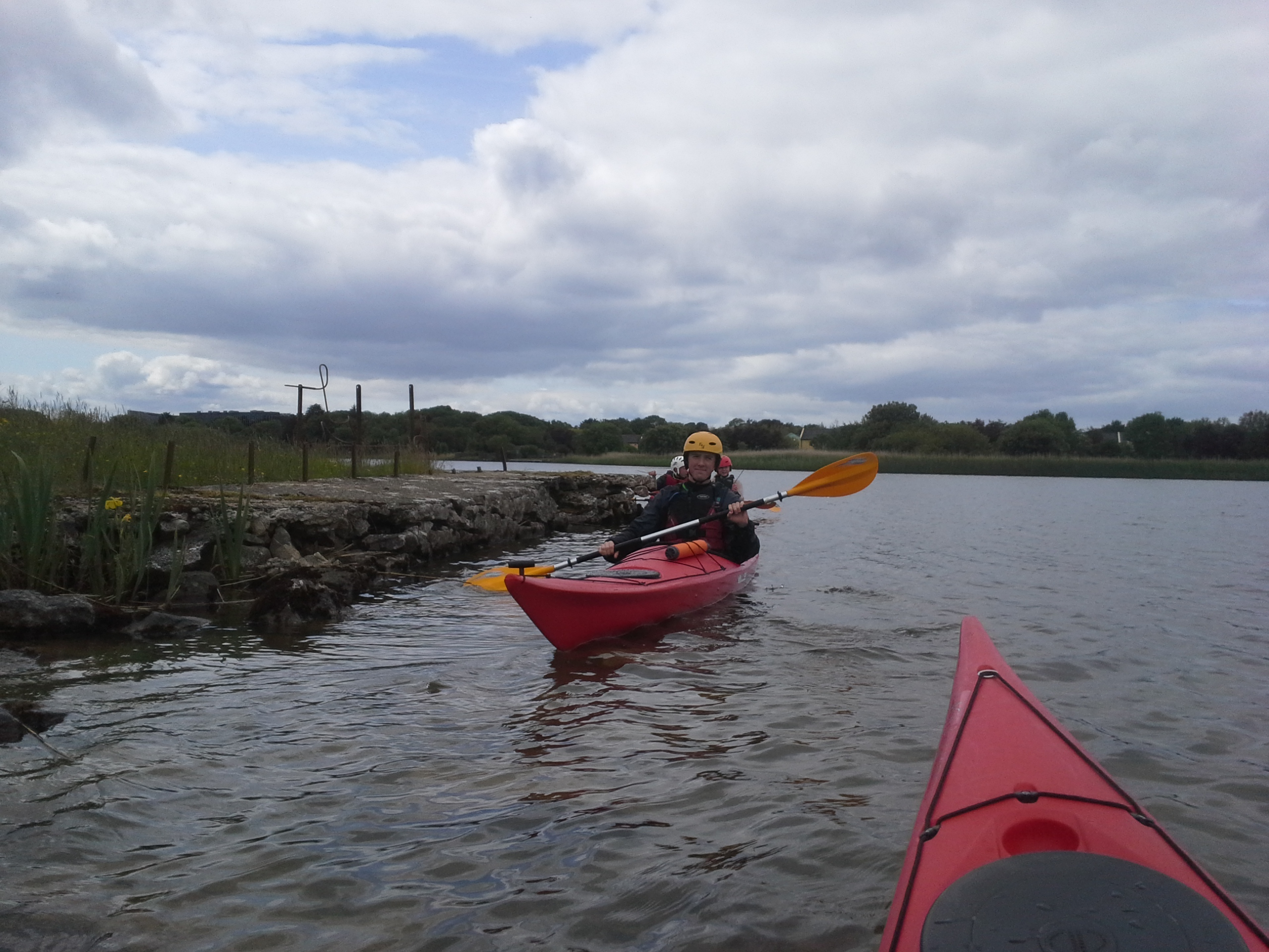 Sea Kayaking on the River
